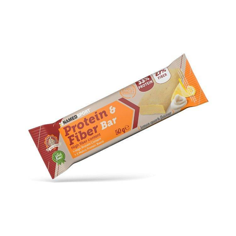 named protein & fiber bar lemon quark 50 g