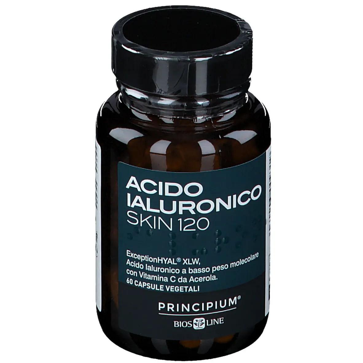 bios line principium acido ialuronico skin 120 60 capsule vegetali
