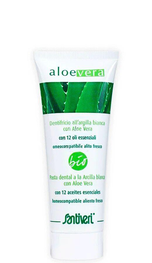 santiveri aloe vera dentifricio gel bio 75 ml