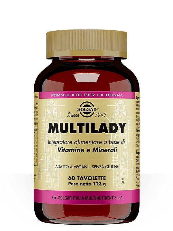 solgar it. multinutrient spa multilady 60 tavolette
