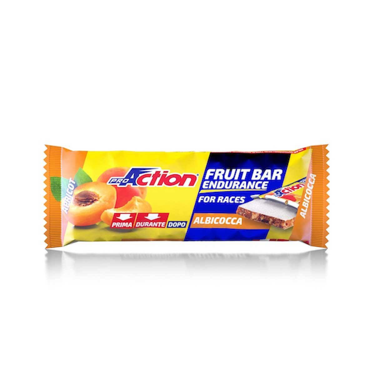 proaction fruit bar barretta energetica all'albicocca 40 g