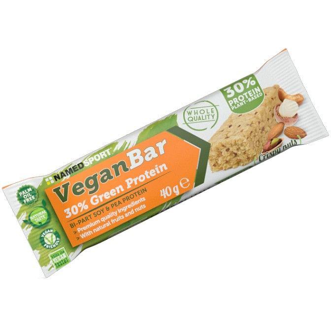 named vegan protein bar nuts 40 g
