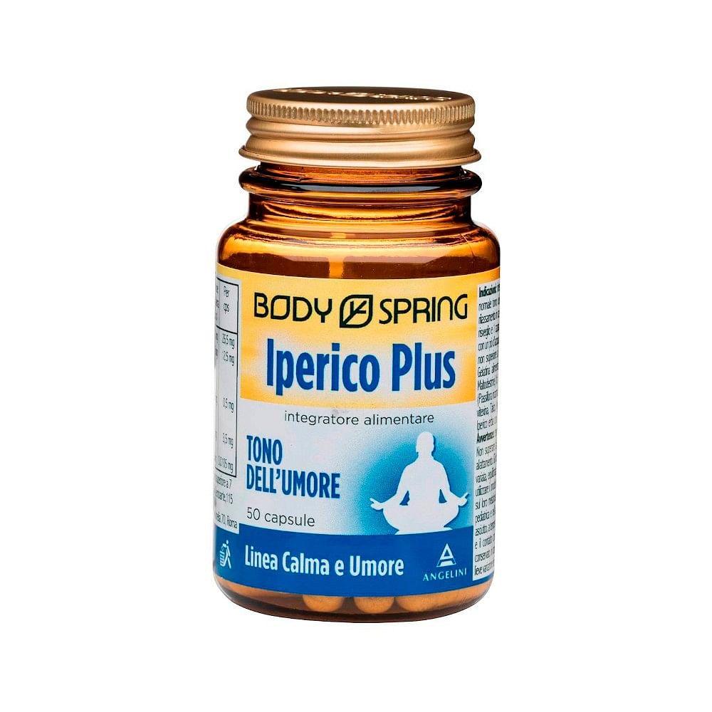 body spring iperico plus 50 capsule