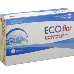 Aqua Viva Srl Ecoflor Boulardii 10 Capsule