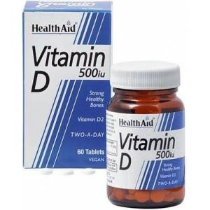 Healthaid Vitamina D 500iu 60 Compresse