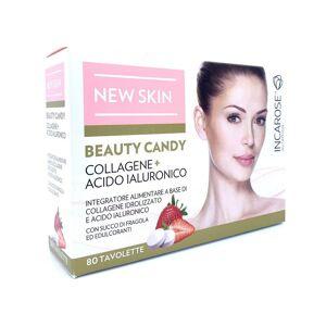 Incarose New Skin Beauty Candy 80 Tavolette