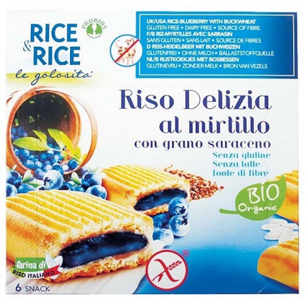 Probios Rice&rice Riso Delizia Mirtillo E Grano Saraceno 6 X 33 G