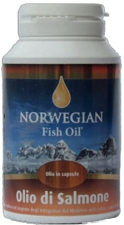 Norwegian Fish Oil As Omega 3 Olio Di Salmone 180 Capsule
