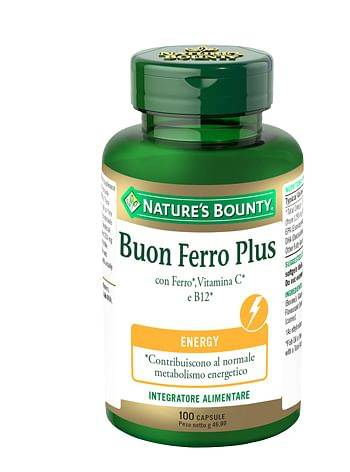 Natures Buon Ferro Plus 100 Capsule