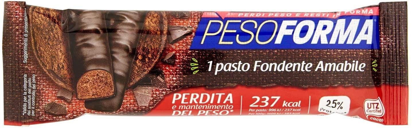 Pesoforma Monopasto Cioccolato Fondente 2 Pezzi
