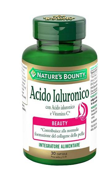 natures acido ialuronico 30 capsule