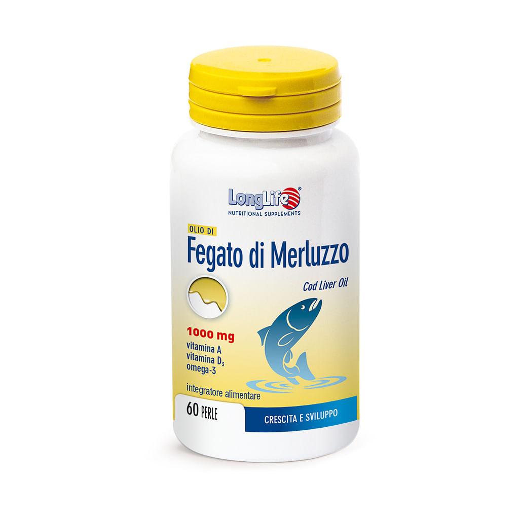 Longlife Olio Fegato Merluzzo 1000 Mg 60 Perle