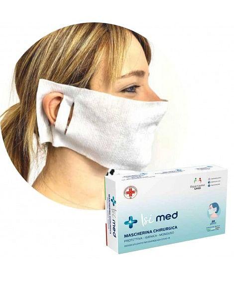 n world isi med mascherina protettiva monouso 20 pezzi