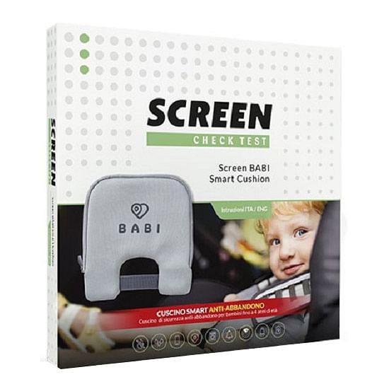 screen pharma cuscino antiabbandono per seggiolino auto con allarme sonoro su appa' di coppia