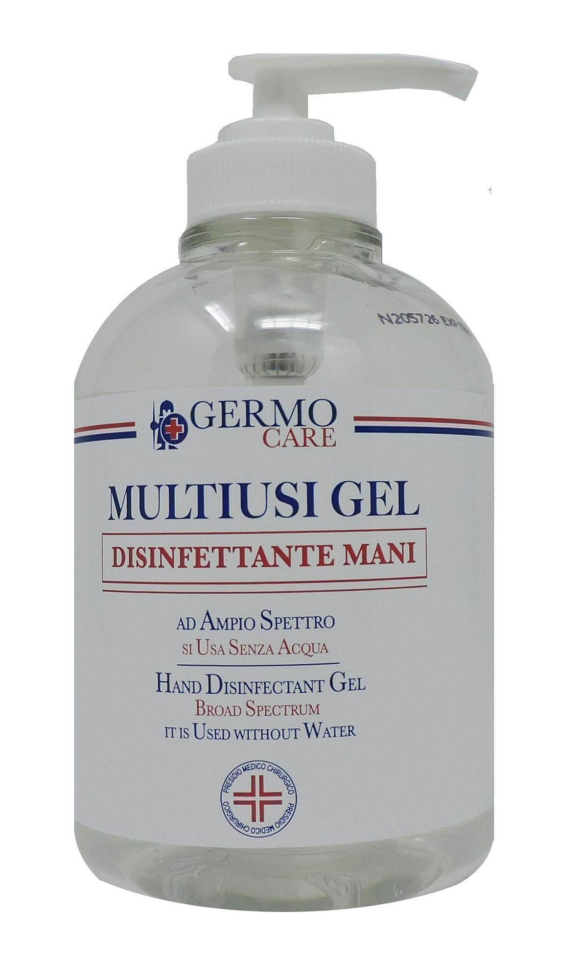 germo multiusi gel disinfettante mani 500 ml