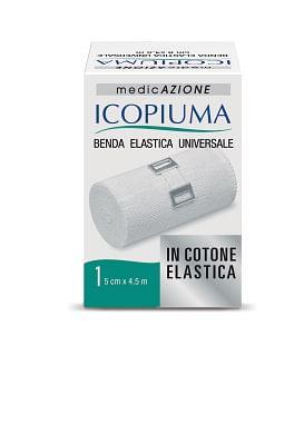 icopiuma benda elastica  universale cm 5 x 4,5 mt 1 pezzo