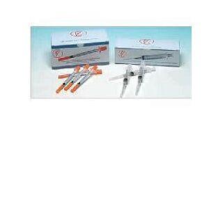 Farmac-Zabban Spa Siringa Meds Farmatexa 2,5/3ml Con Ago 14 Gauge 23 Cono Centrato Luer