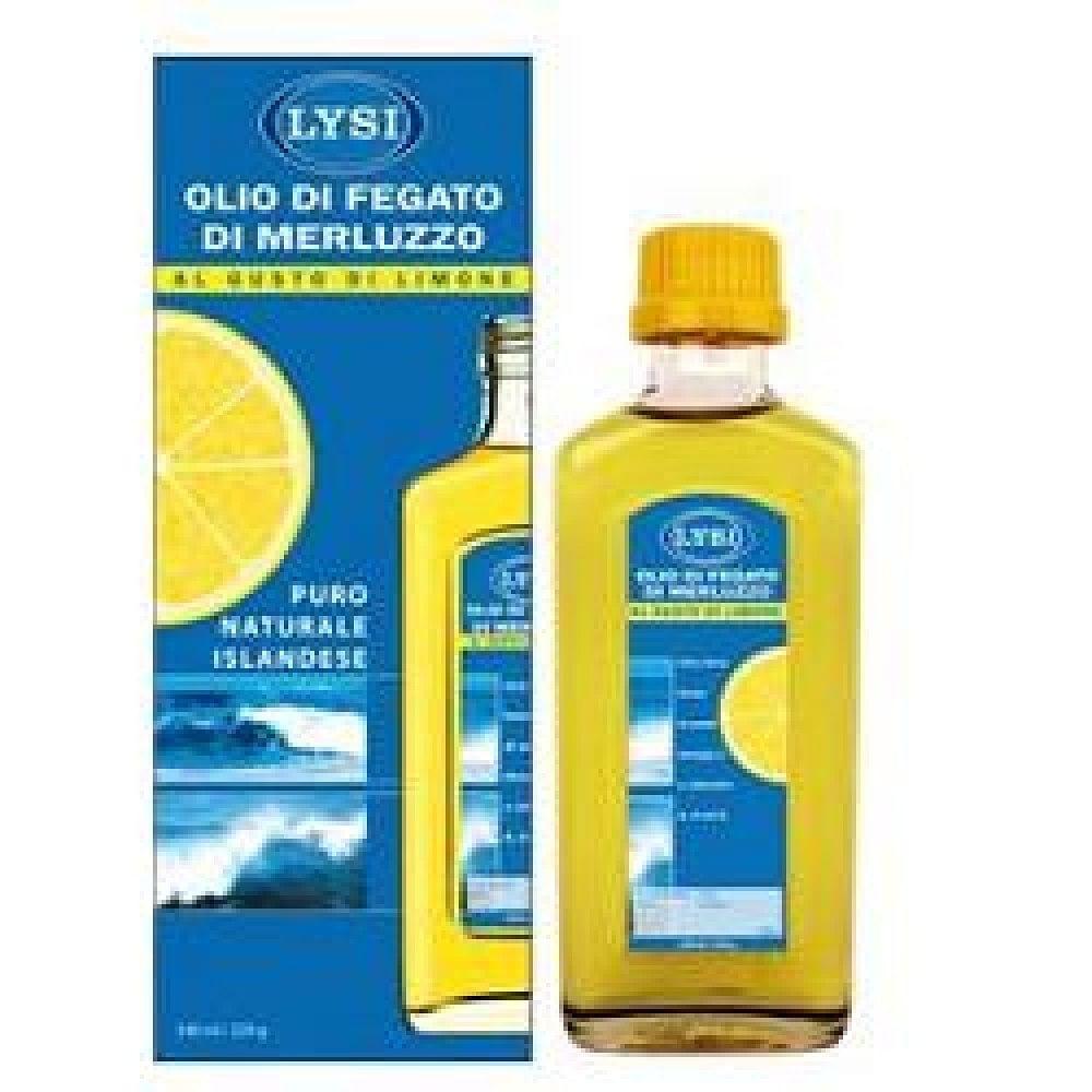Lysi Olio Fegato Merluzzo Limone 240ml