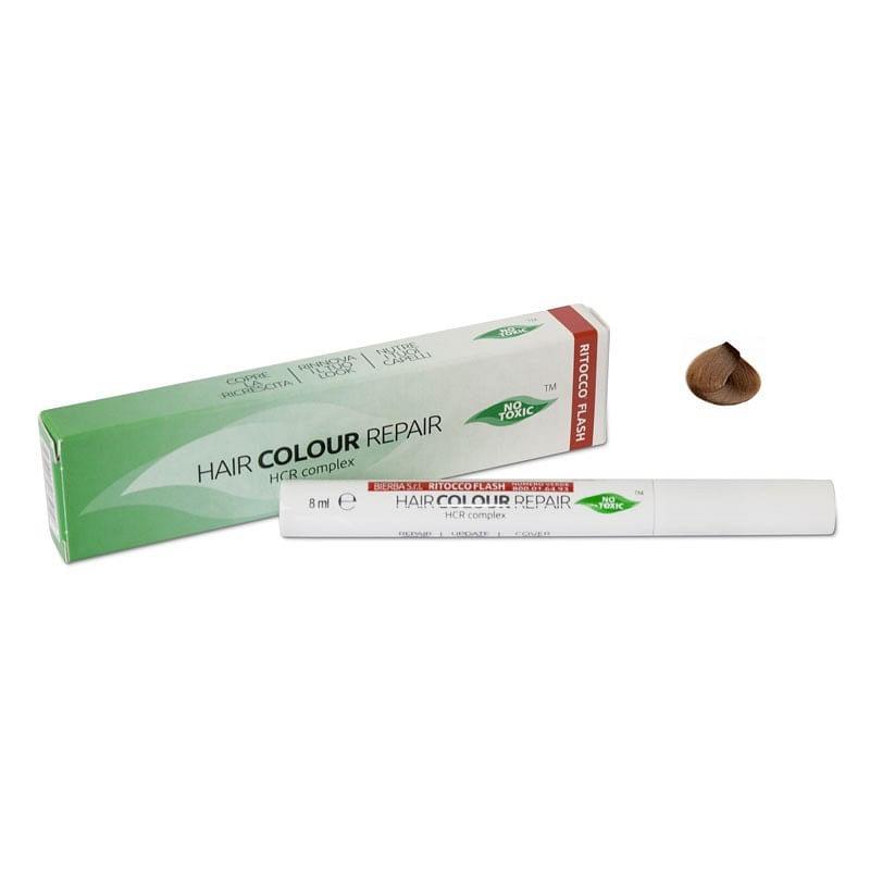 step cosmetici mascara per capelli hair color repair colore castano flacone 8 ml