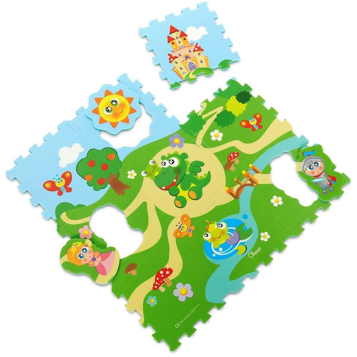Chicco Gioco Tappeto Puzzle Castello 9 Pezzi