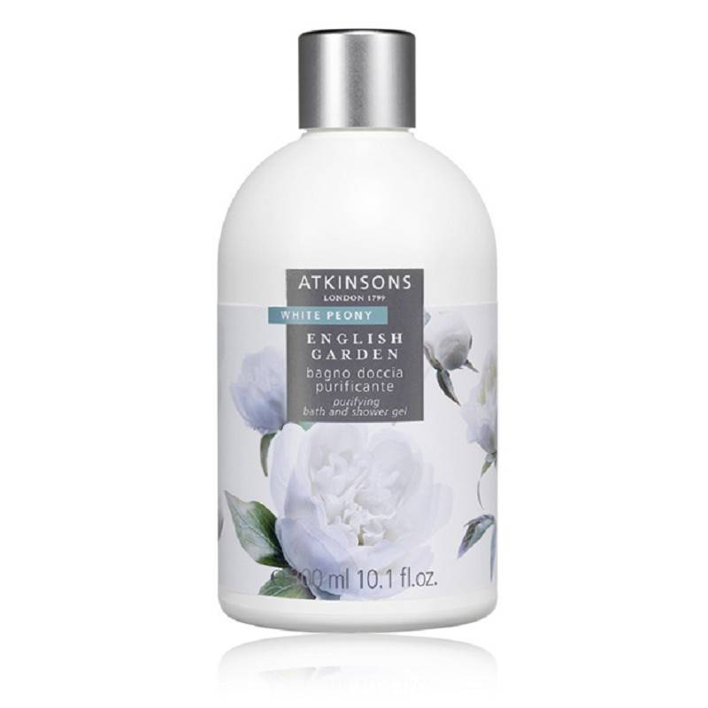 ATKINSONS English Garden White Peony Bagnodoccia 300 Ml