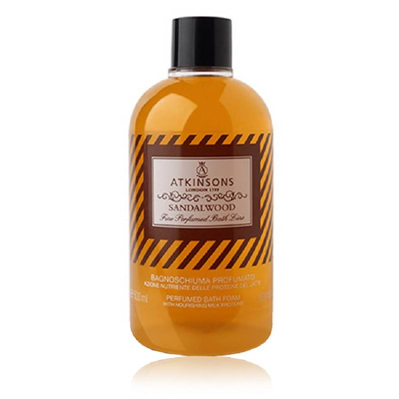 ATKINSONS Fine Perfumed Sandalwood Bagnoschiuma 500 Ml