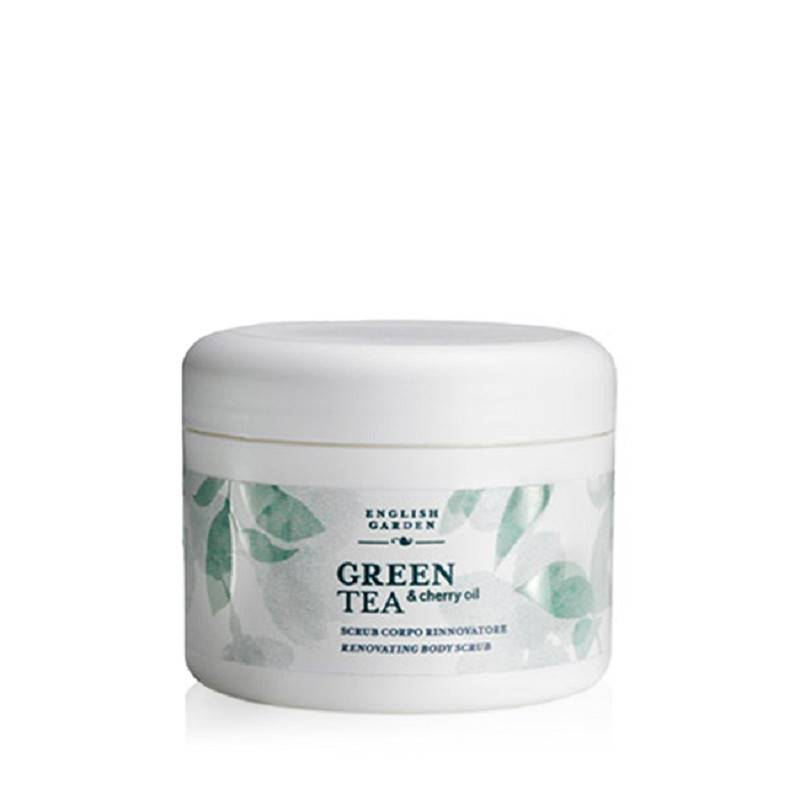 ATKINSONS English Garden Green Tea And Cherry Oil Scrub Corpo 350 Gr