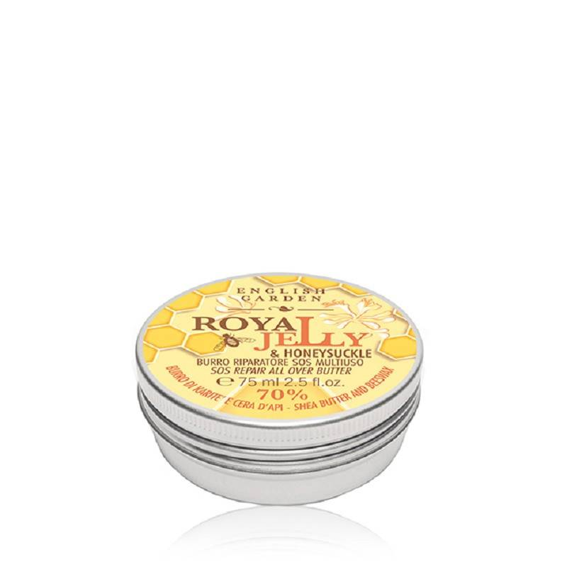 ATKINSONS English Garden Royal Jelly & Honey Suckle Burro Riparatore 75 Ml