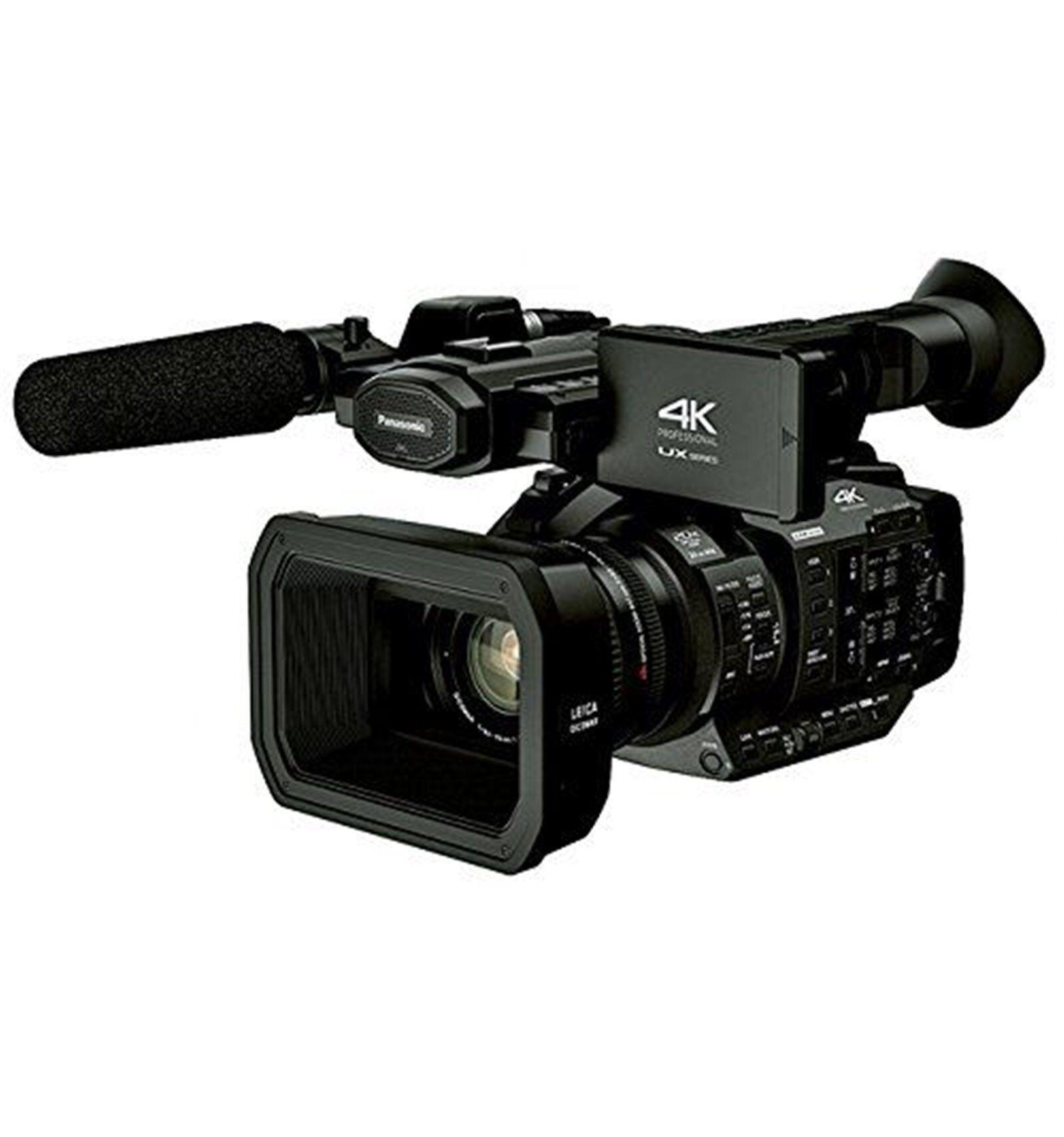 Panasonic Videocamera AG-UX180 4K Camcorder [MENU ENG]