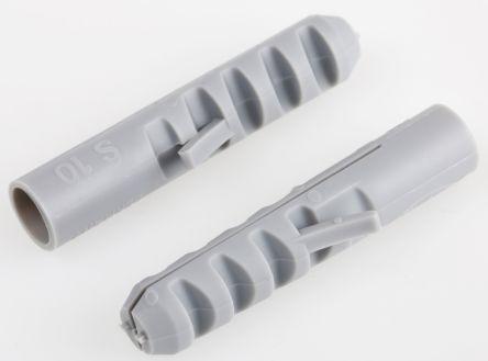 Fischer Fixings Tassello  in Nylon, Ø foro di fissaggio 10mm, L 50mm, 50110