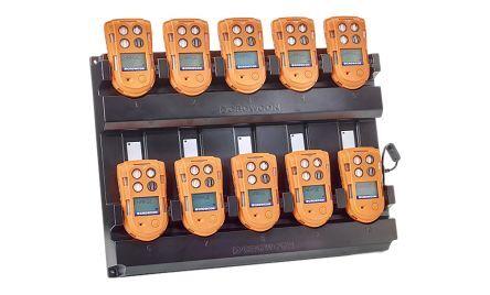 crowcon caricabatterie per rilevatore gas, t4-twc/rs