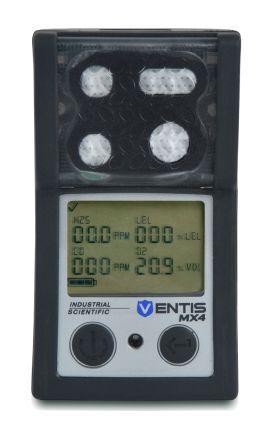 industrial scientific rilevatore gas , ventis mx4, vts-k1231100202