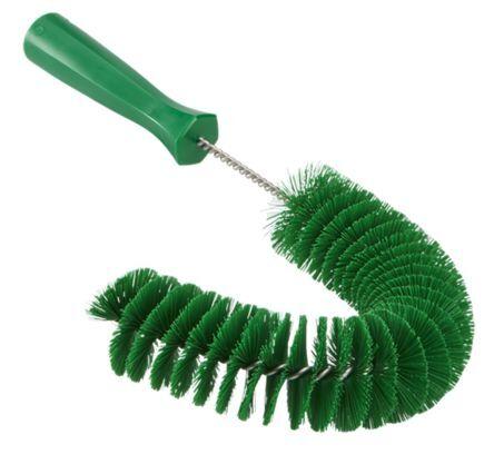Vikan Spazzolone Verde  Spazzola esterna per tubi, con setole in Poliestere Sì, per Pulizia industriale, 53722