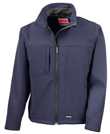 RS PRO Giacca Softshell Blu Navy XXL per Uomo Impermeabile