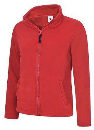 RS PRO Pile 'sDonna M Rosso Poliestere Pile