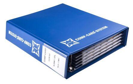 Nova Kit di resistenze  da 2340 pezzi, a Film a carbone, 10 → 1MΩ, montaggio Su foro, CCR-04