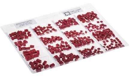 Nova Kit di condensatori  , PET Su foro, 440 pezzi, CCC-52