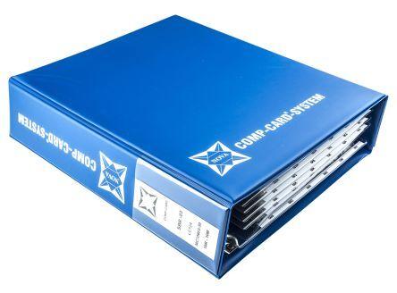 Nova Kit di resistenze  da 6480 pezzi, a Film sottile, 10 → 10MΩ, montaggio , montaggio SMT, SBR-03