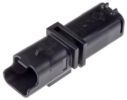 Delphi Corpo connettore automotive  Maschio, 2 vie, 1 fila, passo 3.33mm (5), 211PL022S0049