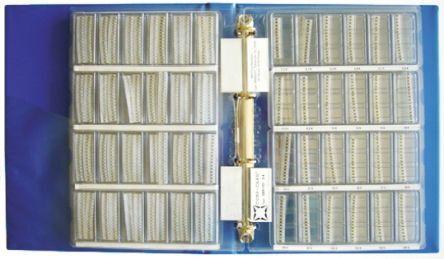Nova Kit di resistenze  da 4050 pezzi, a Film sottile, 0.22 → 10MΩ, SBR-101
