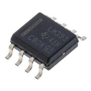 Texas Instruments Comparatore  2 canali alimentazione singola e duale SOIC 8 Pin, LM393D