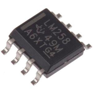 Texas Instruments Amplificatore operazionale, , Precisione, alimentazione doppia/singola, SOIC, 8 Pin, LM258D