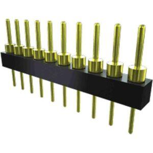 Samtec Connettore maschio , 1 via, 1 fila, passo 2.54mm, TS-101-T-A