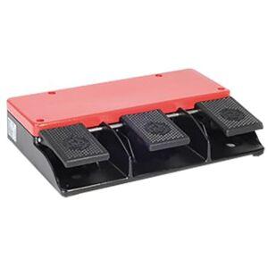 Bernstein AG Interruttore a pedale di arresto di emergenza , 240 V c.a., IP65, 12,8 x 8,66 x 2,59 in, F3-U1Z/U1Z/U1Z