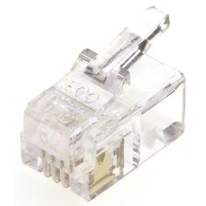 MH Connectors Connettore maschio modulare RJ22 Maschio , serie MHRJ, 4P4C vie, Montaggio su cavo (5), MHRJ114P4CR