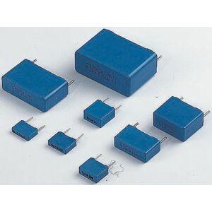 EPCOS Condensatore in poliestere (PET) , 47nF, 63 V ac, 100 V dc, passo 5mm, Su foro, B32529C1473K000