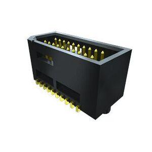Samtec Connettore femmina per PCB  Scheda-scheda serie TEMS, 50 vie, 2 file, passo 0.8mm, verticale, montaggio PCB (2000), TEMS-125-02-03.0-G-D-K-TR