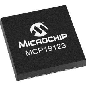 Microchip AEC-Q100 Controller buck boost , Controller Buck, 35A, Regolabile, 1,6 MHz, 28-Pin, QFN (3300), MCP19123T-E/MQ