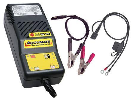 tecmate caricabatterie  per batterie al piombo, spina eu, ricarica 1 unità, tm06sae