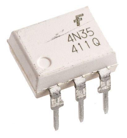 ON Semiconductor Fotoaccoppiatore, Montaggio con foro passante, uscita Driver triac, 6 Pin (10), MOC3042M